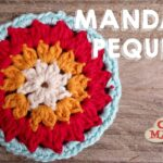 Apliqué Crochet Mandala Pequeña
