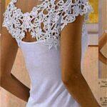 Apliques Para La Espalda De Camisetas En Crochet