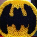 Apliques Tejido De Batman