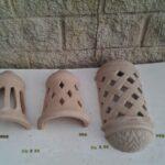 Apliques Y Faroles Exterior Rusticos Ceramica
