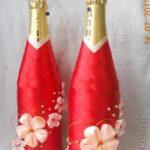 Botellas Decoradas Con Apliques Bodas