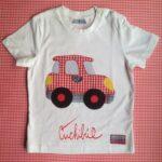 Camisetas Con Apliques De Tela Para Niños