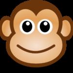 Cara Mono Bebe Aplique