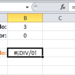 Como Evitar Que Excel Aplique Division