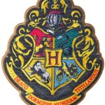 Complementos Harry Potter Escudos Apliques Ropa