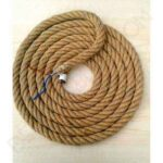 Forrar Cable Con Cuerda Para Aplique