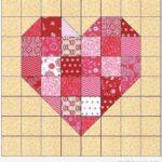 Hacer Un Aplique De Corazón Patchwork