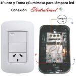 Interruptor Luz Nielsen Dos Apliques Con Trees Instalacion