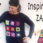 Jersey Apliques De Colores Zara