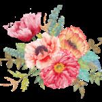 Laminas Apliques Flores